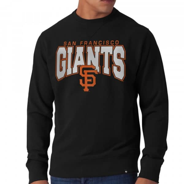 San Francisco Giants Co-Sign Crewneck MLB Sweatshirt Schwarz
