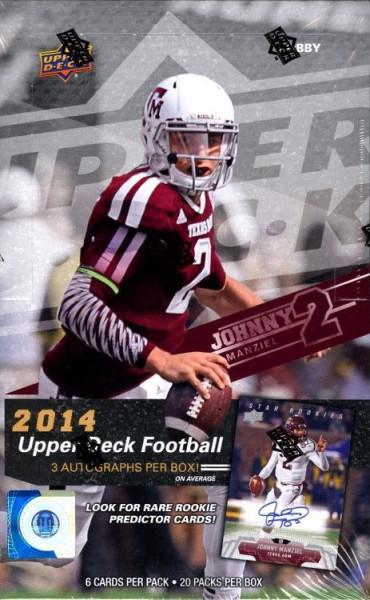 2014 Upper Deck Football Hobby Box