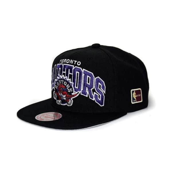 Mitchell   Ness Toronto Raptors Arch HWC Patch Snapback NBA Cap ... fb5361091432