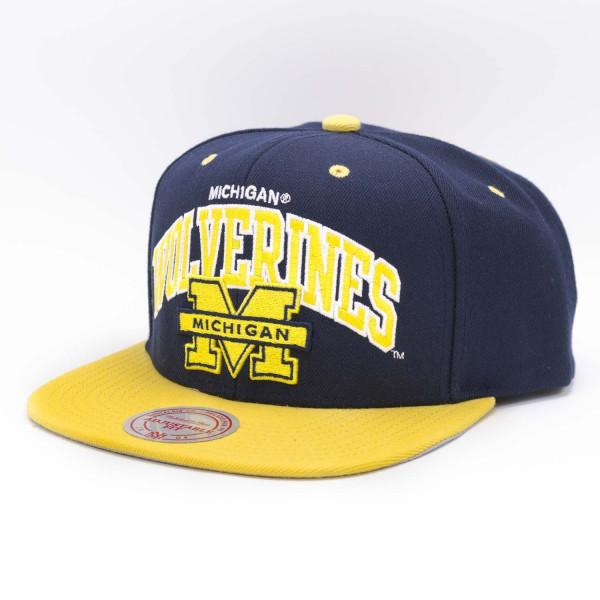 Michigan Wolverines Team Arch Snapback NCAA Cap