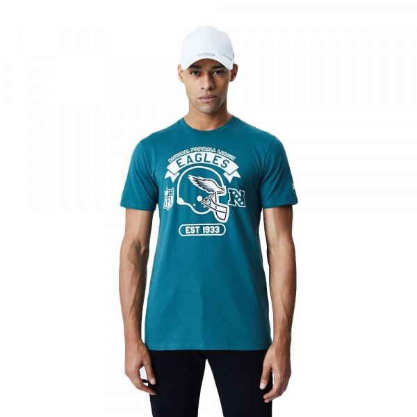 Philadelphia Eagles 2020 Helmet Graphic NFL T-Shirt