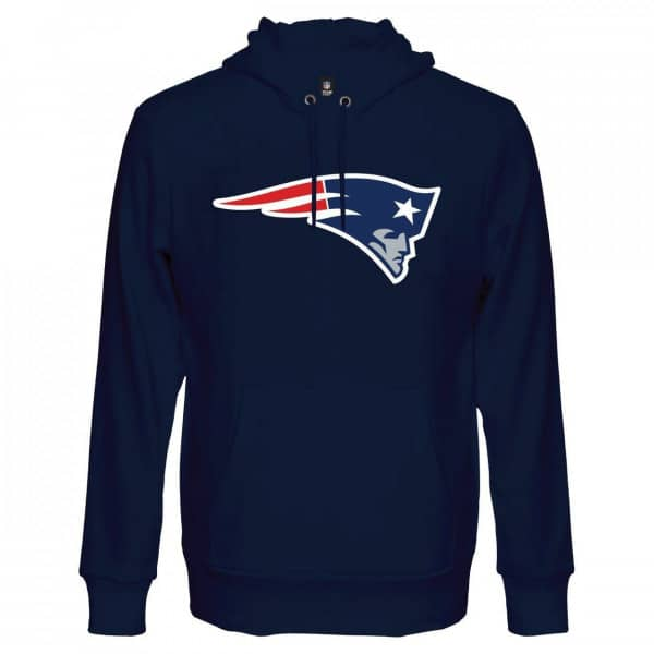 New England Patriots Team Logo Hoodie NFL Sweatshirt