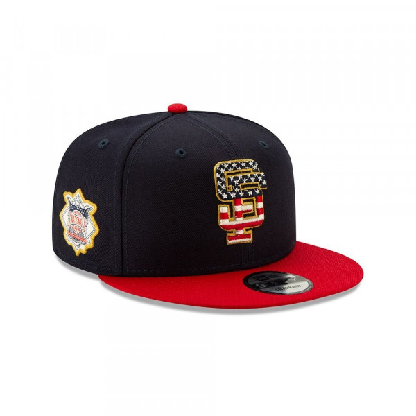 San Francisco Giants 4th of July 2019 MLB 9FIFTY Snapback Cap