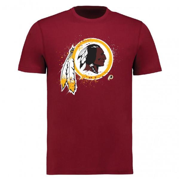 Washington Redskins Splatter NFL T-Shirt