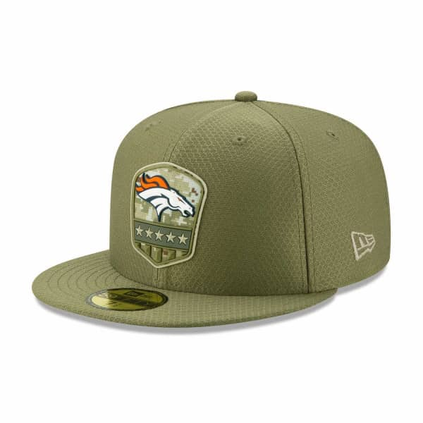 Denver Broncos 2019 On-Field Salute to Service 59FIFTY NFL Cap