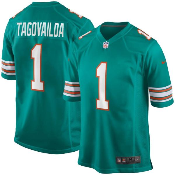 Tua Tagovailoa #1 Miami Dolphins Nike Game NFL Trikot Alternate Throwback