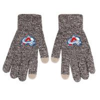 Colorado Avalanche Gray Knit Texting FOCO NHL Handschuhe