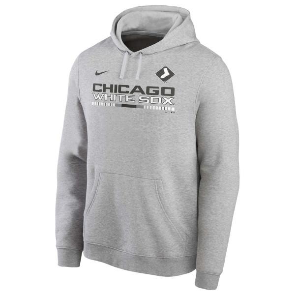 Chicago White Sox Color Bar Nike Club Fleece MLB Hoodie
