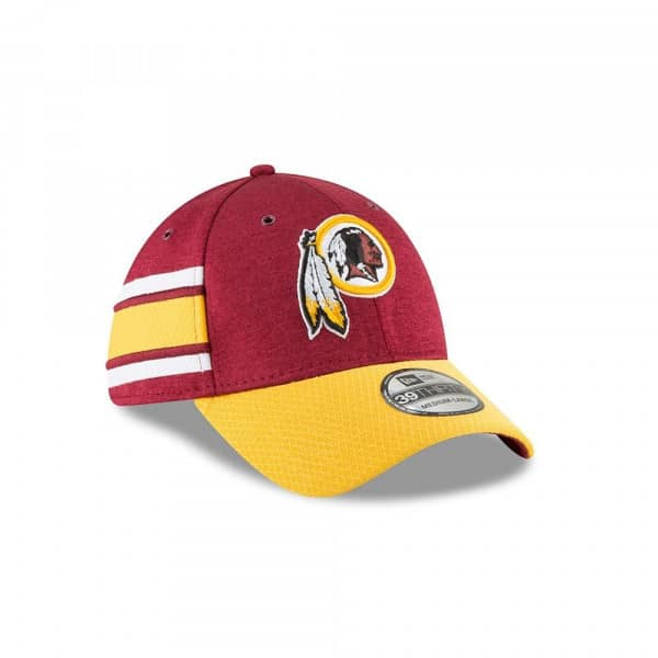 meet 29d77 5bc0a New Era Washington Redskins 2018 NFL Sideline 39THIRTY Flex Cap Home   TAASS .com Fan Shop