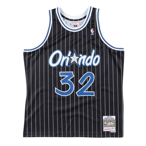 Shaq O'Neal #32 Orlando Magic 1994-95 Swingman NBA Trikot Schwarz
