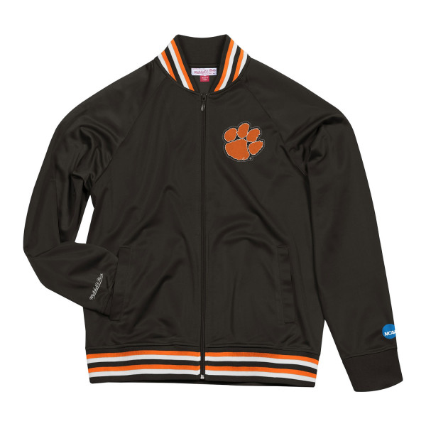 Clemson Tigers Top Prospect Mitchell & Ness NCAA Track Jacket