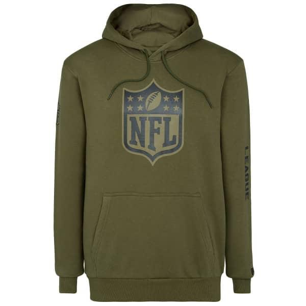 NFL Shield Camo New Era NFL Hoodie