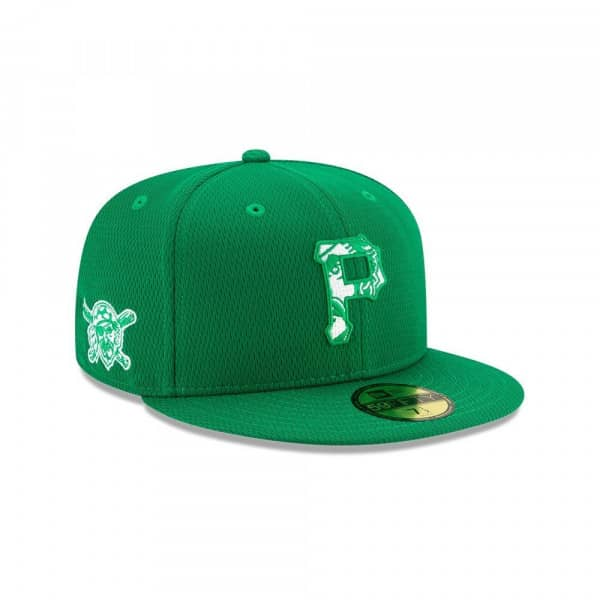 Pittsburgh Pirates 2020 Authentic St. Patrick's Day 59FIFTY Fitted MLB Cap