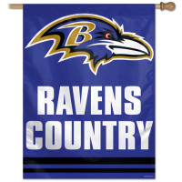 Baltimore Ravens - Ravens Country Football NFL Fahne