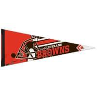 Cleveland Browns Big Logo Premium Football NFL Wimpel