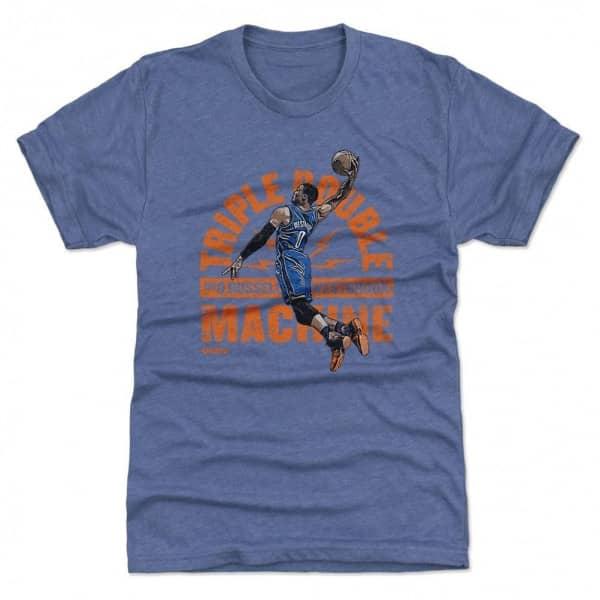 Russell Westbrook Oklahoma Triple Double Machine NBA T-Shirt