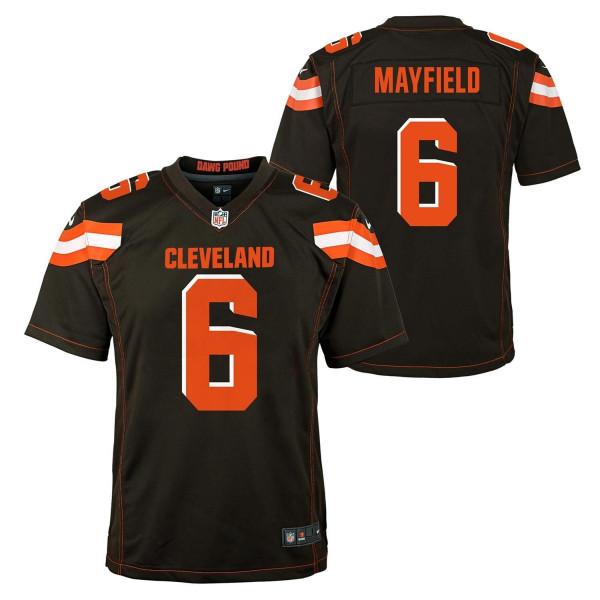 Baker Mayfield #6 Cleveland Browns Youth NFL Trikot (KINDER)