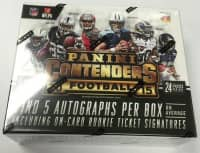 2015 Panini Contenders Football Hobby Box NFL