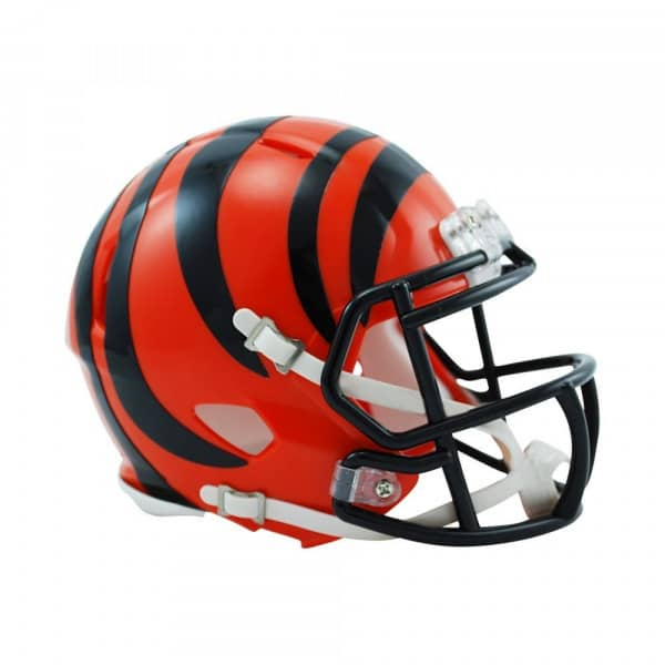 Cincinnati Bengals American Football NFL Speed Mini Helm
