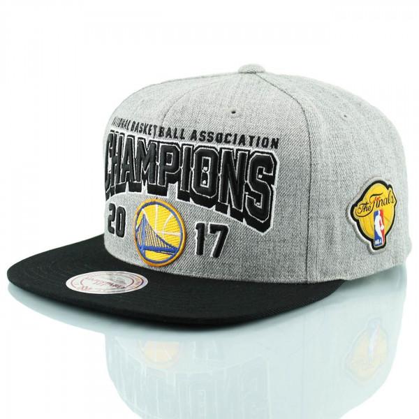 Golden State Warriors 2017 NBA Champs Snapback Cap