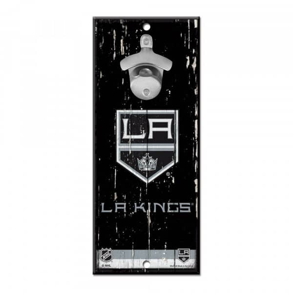 Los Angeles Kings NHL Schild mit Flaschenöffner