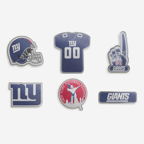 New York Giants NFL Anstecker 6er Set
