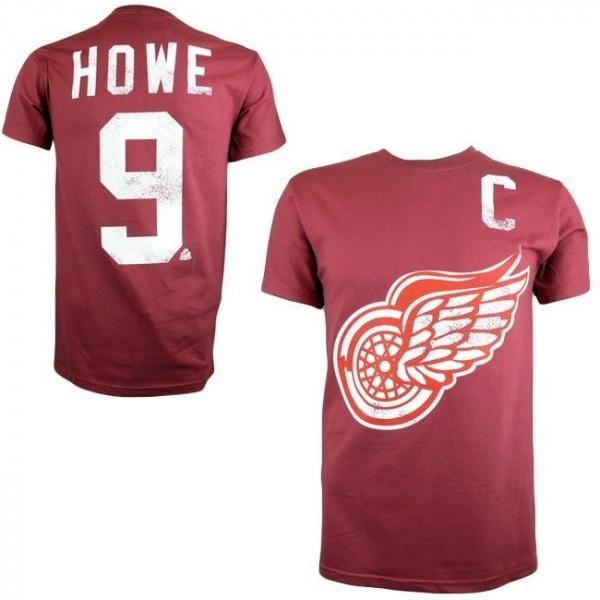 Detroit Red Wings Gordie Howe #9 Alumni Eishockey NHL T-Shirt
