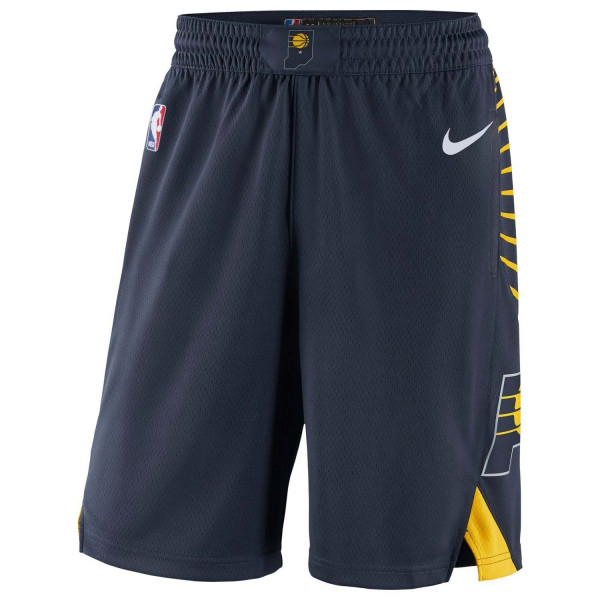 Indiana Pacers Icon Swingman NBA Shorts Navy