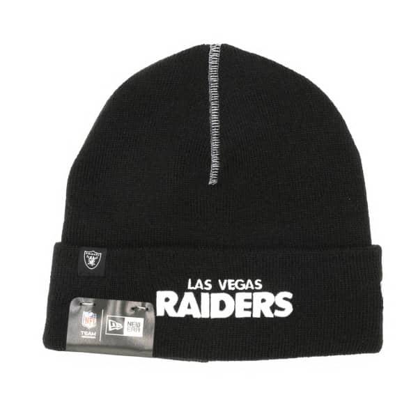 Las Vegas Raiders New Era NFL Basic Beanie Wintermütze