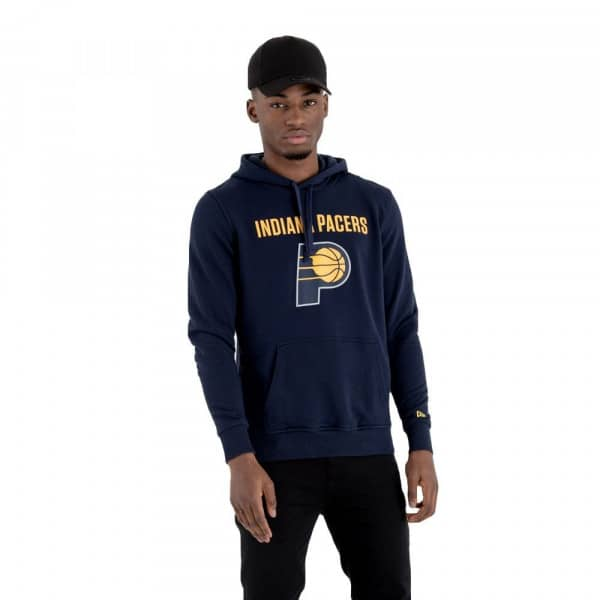 Indiana Pacers Team Logo Hoodie NBA Sweatshirt
