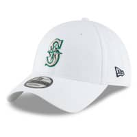 Seattle Mariners Core Classic New Era 9TWENTY Adjustable MLB Cap Weiß