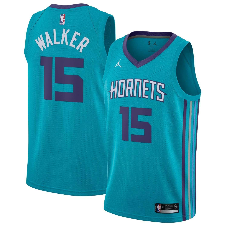 644871d58be7 Jordan Kemba Walker  15 Charlotte Hornets Icon Swingman NBA Jersey ...