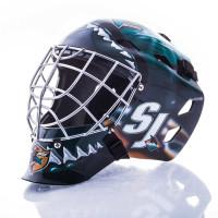 San Jose Sharks NHL Mini Goalie Mask