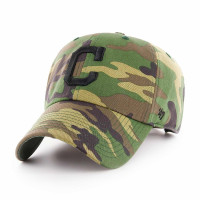 Cleveland Indians Camouflage Clean Up Adjustable MLB Cap