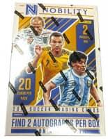 2017/18 Panini Nobility Soccer (Fußball) Hobby Box