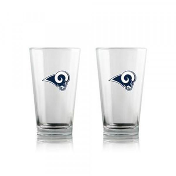 Los Angeles Rams Highball NFL Pint Glas Set (2 Stk.)