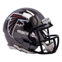Atlanta Falcons NFL Chrome Alternate Speed Mini Helm