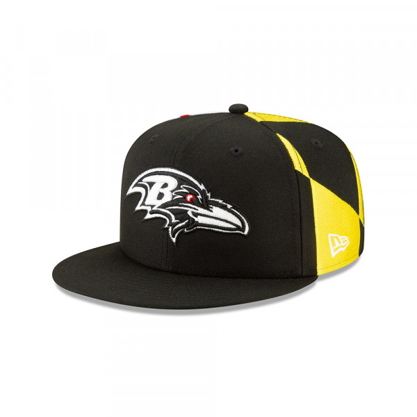 b6dca9bb New Era Baltimore Ravens 2019 NFL Draft 9FIFTY Snapback Cap Spotlight |  TAASS.com Fan Shop