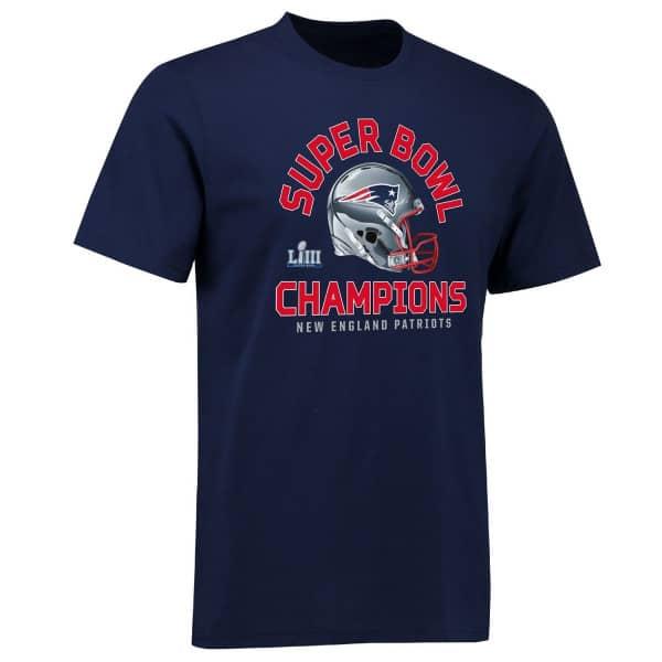 New England Patriots Super Bowl LIII Champs 2 Minute Drill NFL T-Shirt
