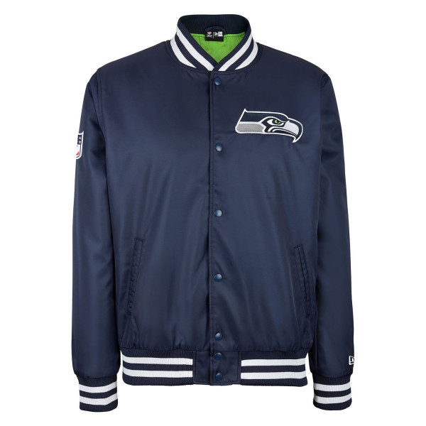 Seattle Seahawks Team Wordmark NFL Bomber Jacke