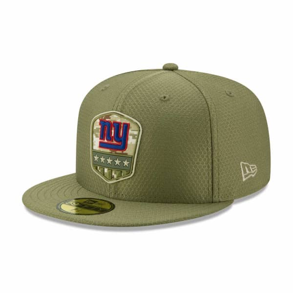 New York Giants 2019 On-Field Salute to Service 59FIFTY NFL Cap