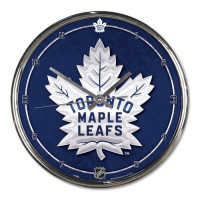 Toronto Maple Leafs Chrome NHL Wanduhr
