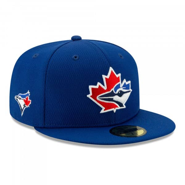 Toronto Blue Jays 2021 MLB Authentic Batting Practice New Era 59FIFTY Fitted Cap