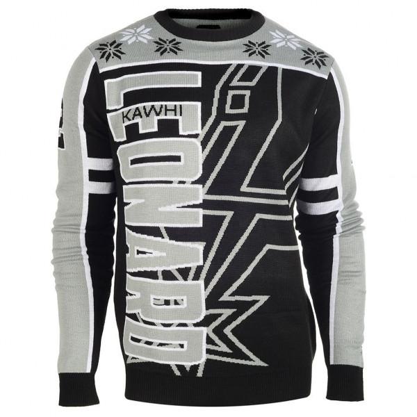 San Antonio Spurs Kawhi Leonard #2 Crewneck NBA Ugly Sweater