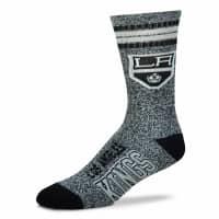 Los Angeles Kings Marbled 4 Stripe Crew NHL Socken