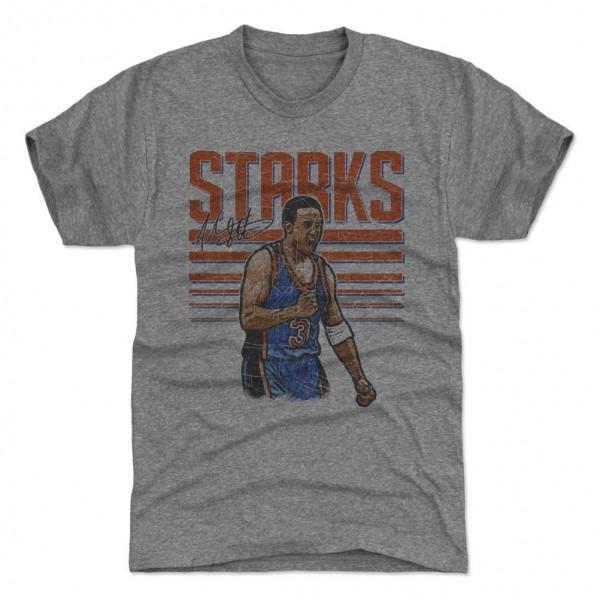 John Starks New York Stripes NBA T-Shirt