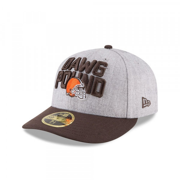 Cleveland Browns 2018 NFL Draft Low Profile 59FIFTY Fitted Cap