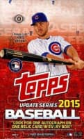 2015 Topps Update Baseball Hobby Box MLB