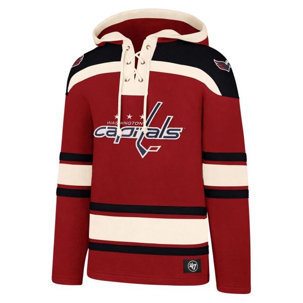 Washington Capitals Lacer Jersey Hoodie NHL Sweatshirt