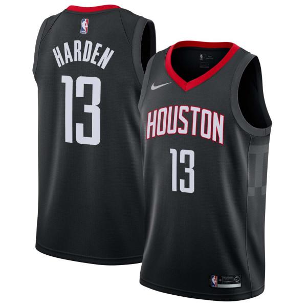 38baa81cb24 Nike James Harden  13 Houston Rockets Statement Swingman NBA Jersey Black